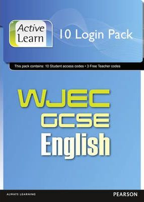 WJEC GCSE English and English Language ActiveLearn 10 User Pack