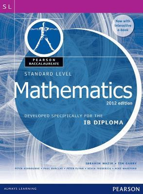 Pearson baccalaureate standard level mathematics revised 2012 print pearson baccalaureate standard level mathematics revised 2012 print and ebook bundle for the ib diploma fandeluxe Images