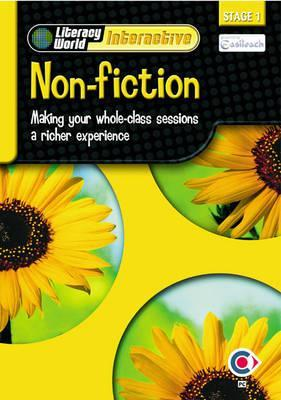 Literacy World Interactive Stage 1non-Fiction: Software Multi User Pack Scot/NI