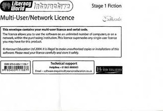 Literacy World Interactive Stage 1 Fiction Multi User Licence