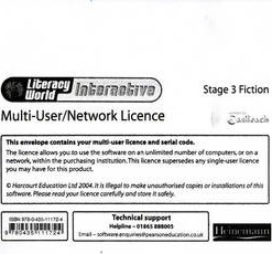 Literacy World: Interactive - Stage 3 Fiction Multi User Licence
