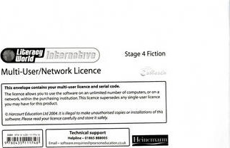 Literacy World: Interactive - Stage 4 Fiction Multi User Licence