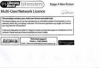 Literacy World Interactive Stage 4 Non-fiction Multi User Licence