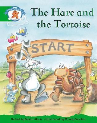 Storyworlds Reception/P1 Stage 3, Once Upon a Time World, the Hare and the Tortoise (6 Pack)