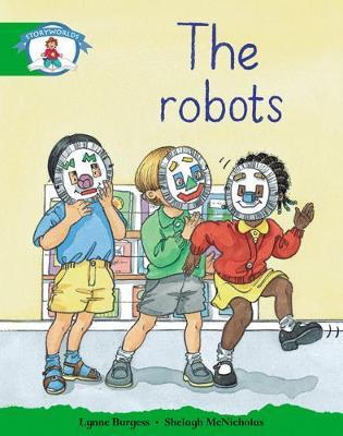 Storyworlds Reception/P1 Stage 3, Our World, the Robots (6 Pack)
