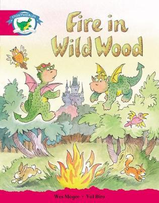 Storyworlds Yr1/P2 Stage 5, Fantasy World, Fire in Wild Wood (6 Pack)