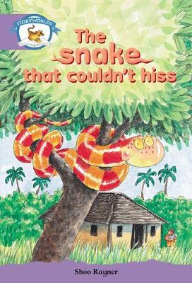 Literacy Edition Storyworlds Stage 8, Animal World, The Snake That Couldn't Hiss 6 Pack