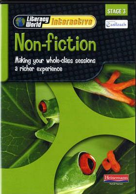 Literacy World Interactive Stage 3 Non-Fiction Single User Pack Version 2 Framework