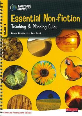 Literacy World Stage 1 Non-Fiction: Essential Teaching & Planning Guide Scotland: NI version