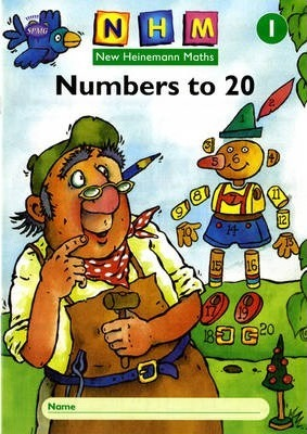 New Heinemann Maths Year 1, Number to 20 Activity Book (Single)