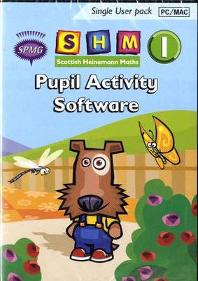 Scottish Heinemann Maths 1 Pupil Activity Software Single User