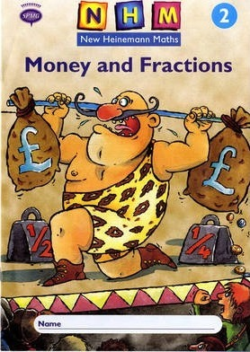 New Heinemann Maths Year 2, Money and Fractions Activity Book (single)