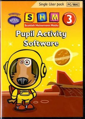 Scottish Heinemann Maths 3 Pupil Activity Software Single User