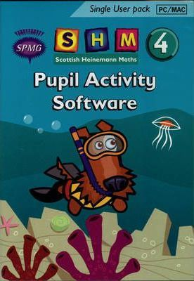 Scottish Heinemann Maths 4 Pupil Activity Software Single User