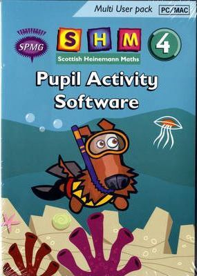 Scottish Heinemann Maths 4 Pupil Activity Software Multi User