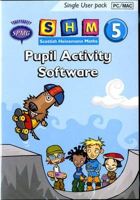 Scottish Heinemann Maths 5 Pupil Activity Software Single User