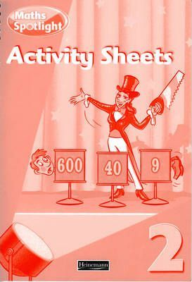 Maths Spotlight Year 2/P3: Activity Sheets