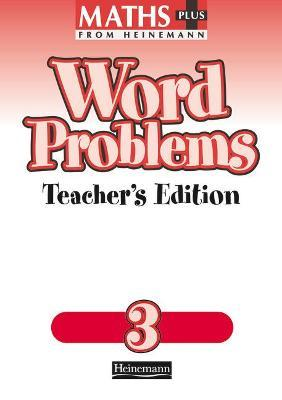 Maths Plus Word Problems 3: Teacher's Book