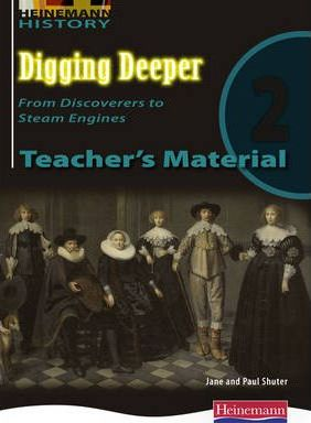 Digging Deeper 2: From Discoverers to Steam Engines Teacher's CD