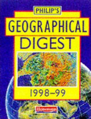 Philip's Geographical Digest 1998-99 (Cased)