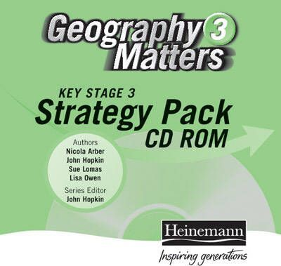 Geography Matters 3 KS3 Strategy Pack CDROM Single