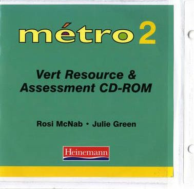 Metro 2 Vert Resource and Assessment File with CD-ROM
