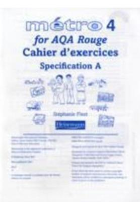 Metro 4 for AQA Higher Workbook for Specification A