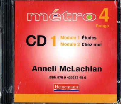 Metro 4 Rouge Audio CDs 1-4 Pack 2006 Edition