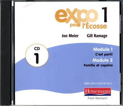 Expo Pour L'ecosse 1 Audio CDs (Pack of 3)
