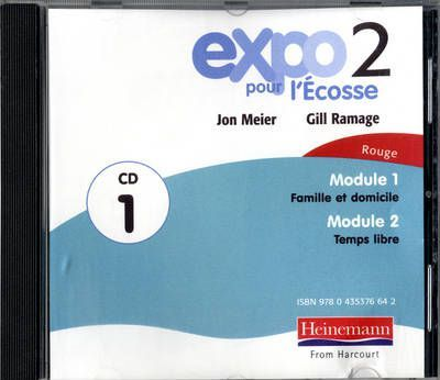 Expo Pour l'Ecosse 2 Rouge Audio CD 1