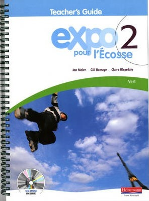 Expo Pour l'Ecosse 2 Vert Teacher's Guide & CD-ROM