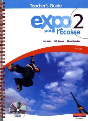 Expo pour l'Ecosse 2 Rouge Teacher's Guide & CD-ROM