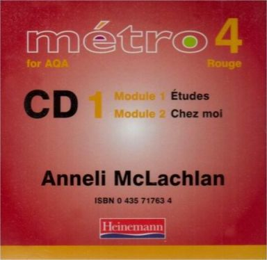Metro 4 for AQA Rouge Audio CDs 1-4 Pack 2006 Edition