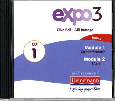 Expo 3 Rouge Audio CD A (single)