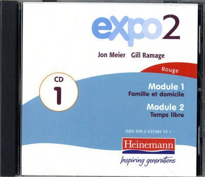 Expo 2 Rouge Audio CD A (single)