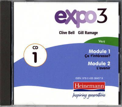 Expo 3 Vert Audio CDs (pack of three)