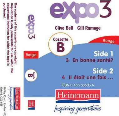 Expo 3 Rouge Cassette B Single