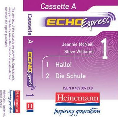 Echo Express 1 Cassettes (Pack of 3)