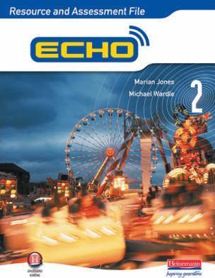 Echo 2 Resource and Assessment File