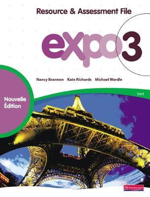 Expo 3 Vert Resource and Assesment File New Edition