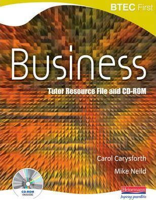 BTEC First in Business Teachers Resource File and CDROM
