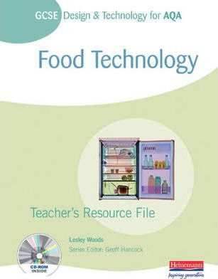 GCSE Design and Technology for AQA: Food Technology Teachers Resource File Folder