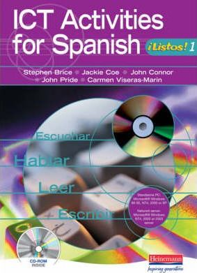ICT Activities for Spanish Listos 1 Version 2 single user Pack