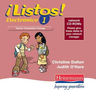 Listos Electronico 1 Teachers Presentation Pack Network Jewel Case