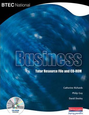 BTEC National Business Teachers Resource File & CD-ROM