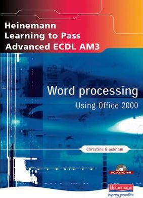 Advanced ECDL: Word Processing for Office 2000
