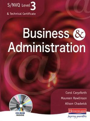 S/NVQ Level 3 Business & Administration: Student Book