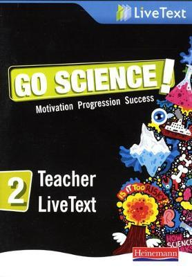 Go Science! 2 LiveText DVD Case
