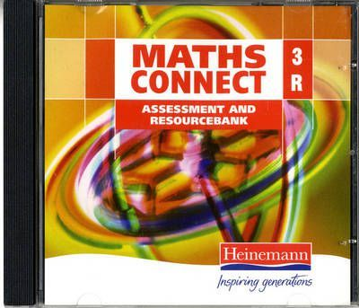 Maths Connect 3 Red Resourcebank 3 Pack CD-ROM
