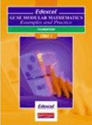 Edexcel GCSE Modular Maths Foundation Stage 2 Examples & Practice Pack of 10